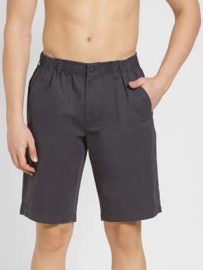 Graphite Straight fit Shorts