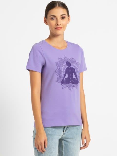 Paisley purple print046 Graphic T-Shirt