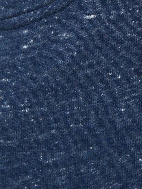 Blue Snow Melange Girls Shorts