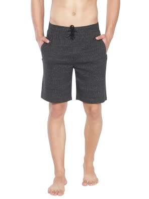 Black Snow Melange Straight fit Shorts