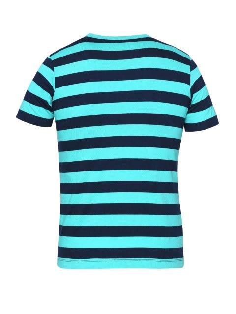 Waterfall & Navy Boys Striped T-Shirt