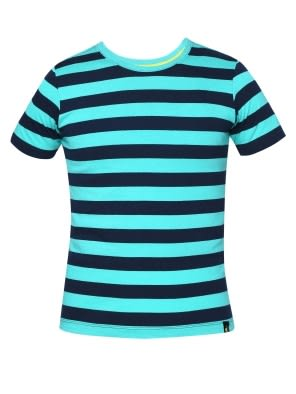 Waterfall & Navy Boys Striped T-Shirt