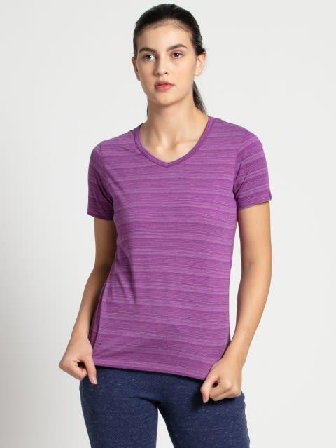 Purple Glory V-Neck T-Shirt