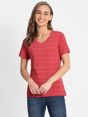 Shanghai Red V-Neck T-Shirt