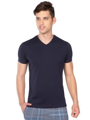 True Navy V-Neck T-Shirt