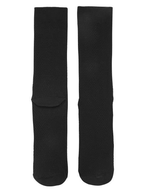 Black Des1 Calf Length Socks