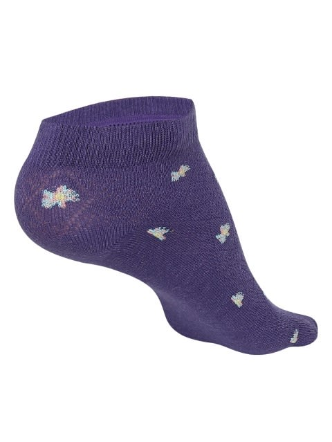 Heather Melange Low Show Socks