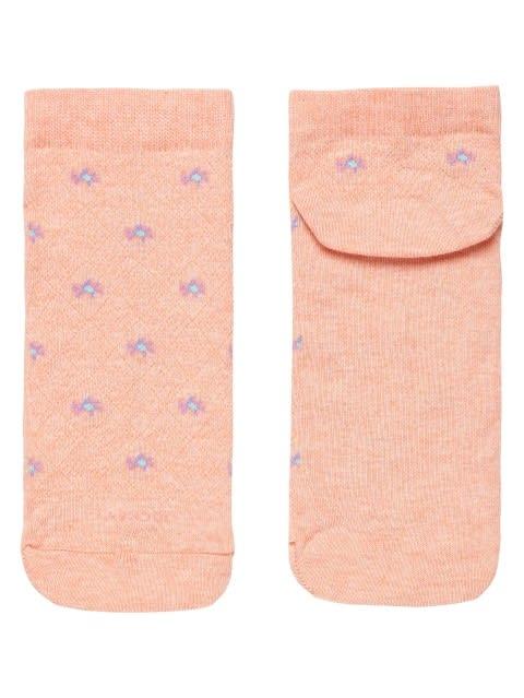 Papaya Melange Women Low Show Socks