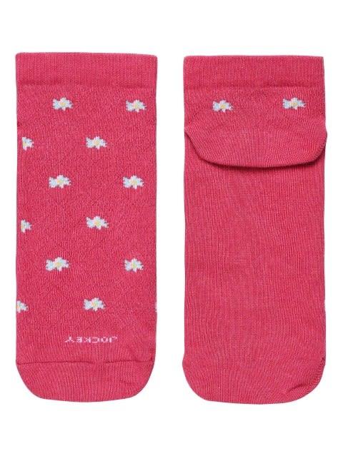 Raspberry Melange Low Show Socks