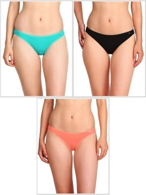 Jockey Core Color Bikini Combo - Pack of 3