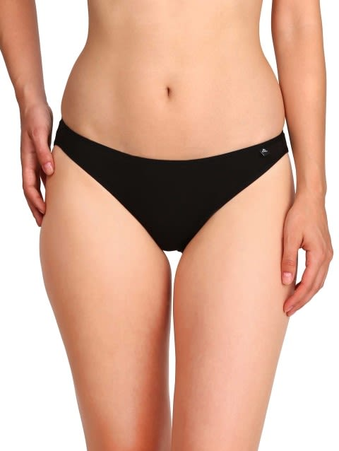 Jockey Black Color Bikini Combo - Pack of 3