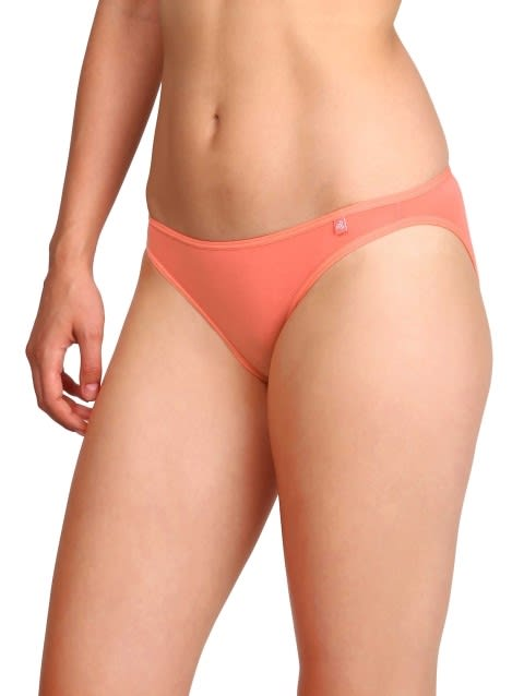 Jockey Basic Color Bikini Combo - Pack of 6