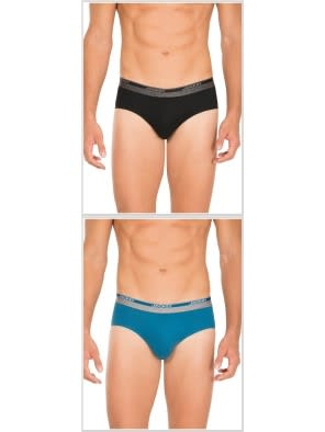 Jockey Basic Color Square Cut Brief Combo - Pack of 2