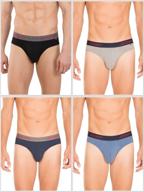 Jockey Multi Color Brief Combo - Pack of 4