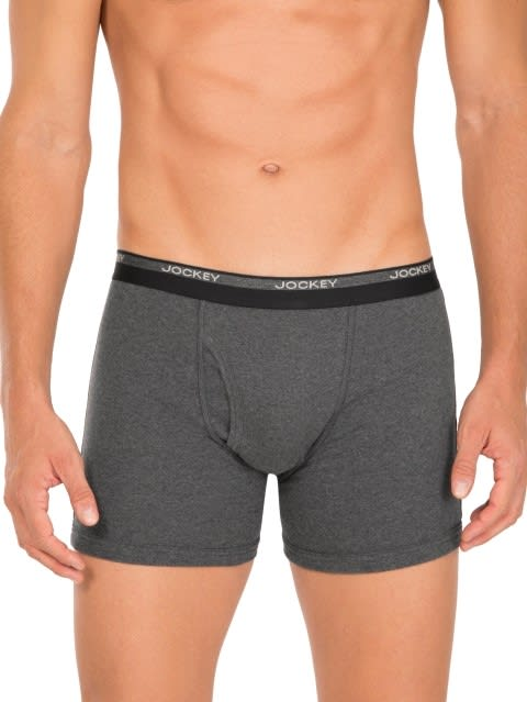 Jockey Multi Color Boxer Brief Combo - Pack of 4