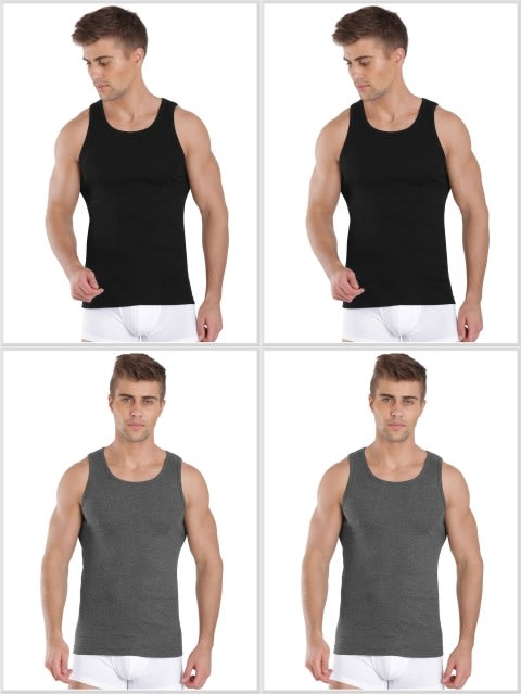 Jockey Fashion Color Vest Combo - Pack of 4