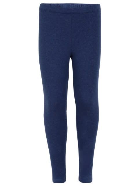 Denim Blue Melange Leggings