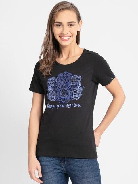 Black Graphic T-Shirt