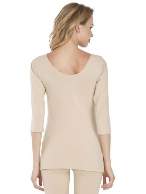 Skin Thermal 3 Q Sleeve T-Shirt