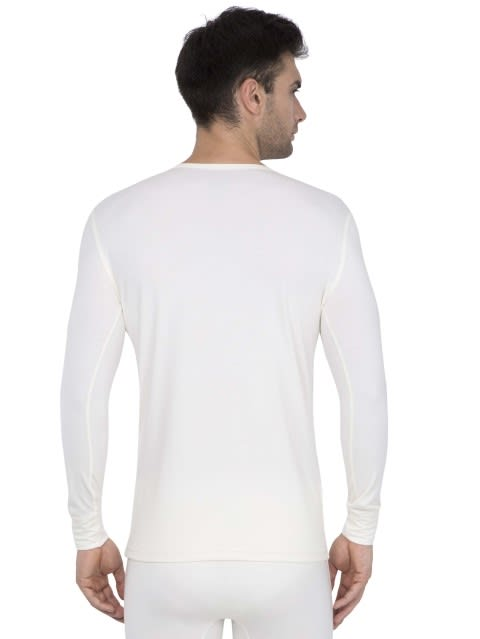 White Thermal Long Sleeve Vest