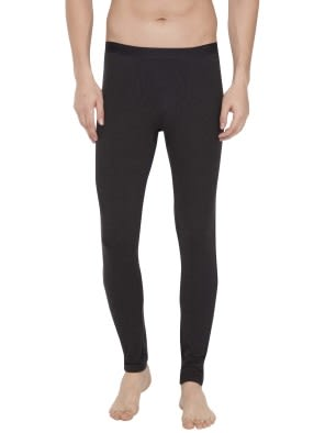 Black Thermal Long John