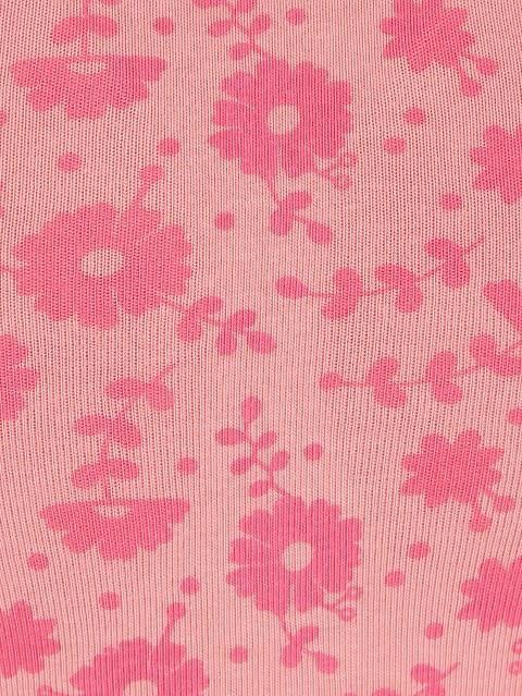 Peach Blossom Print67 Soft Cup Bra