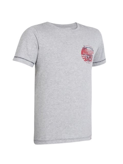Grey Melange Boys T-shirt
