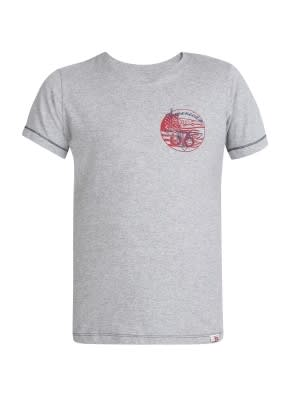 Grey Melange Boys T-shirt