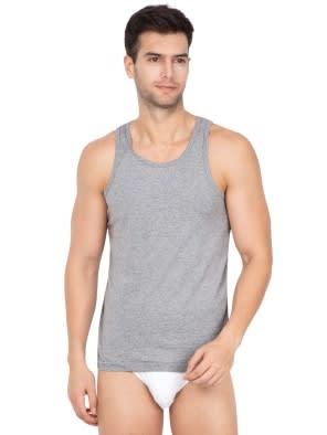 E-Grey Melange Basic Undershirt