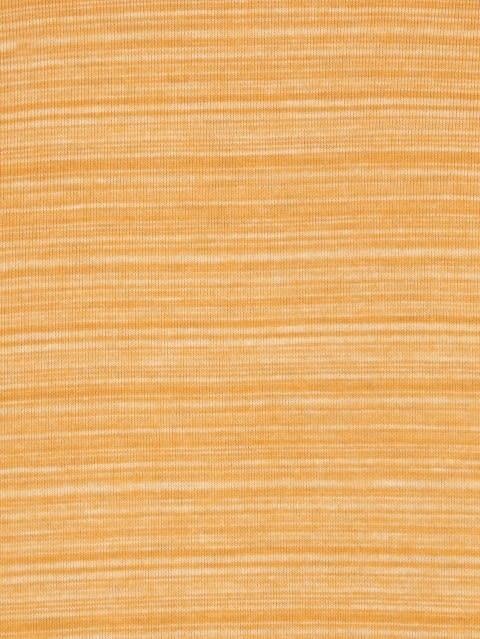 Burnt Gold V-Neck Long Sleeve T-Shirt