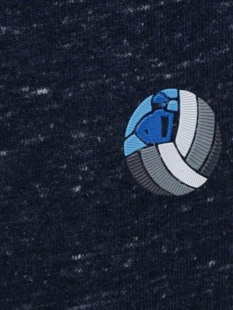 Blue Snow Melange Jogger