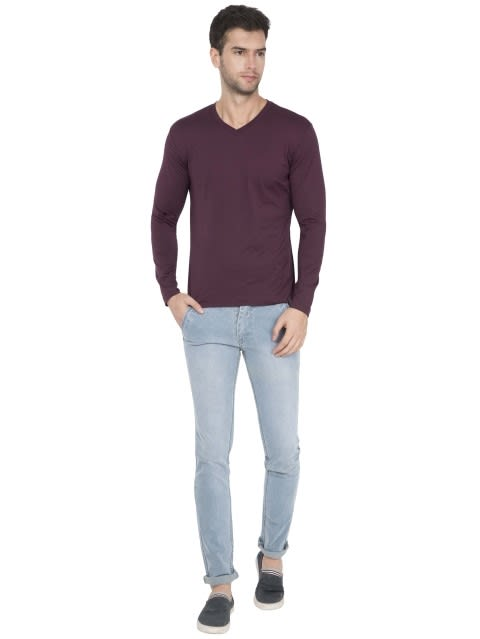 Wine Tasting V-Neck Long Sleeve T-Shirt