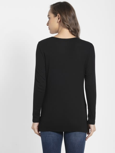 Black Full Sleeve T-Shirt