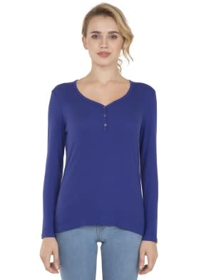 Indigo Crush Full Sleeve T-Shirt