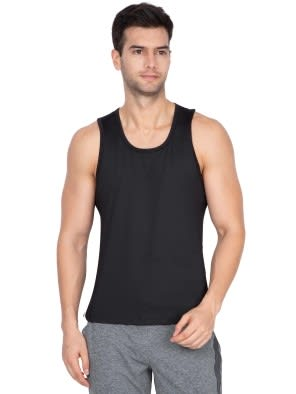 Black Loose Fit Tank Top
