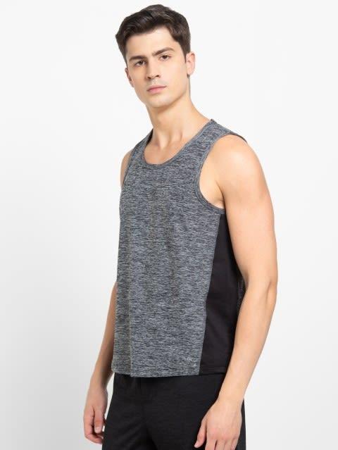 Grey Marl Loose Fit Tank Top
