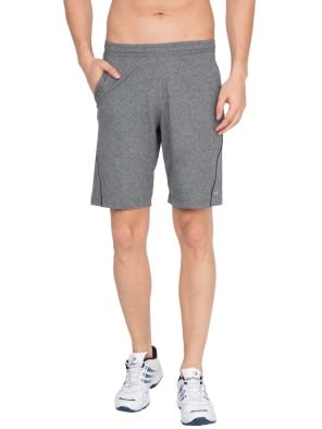 Grey Marl Short with continuous back yoke
