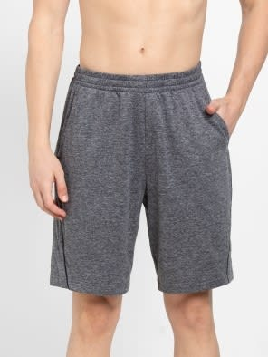 Grey Marl Short with continuous back yoke