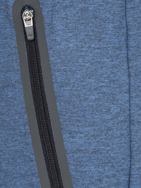 Blue Marl Jogger with Hybrid waist band