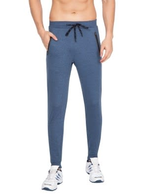Blue Marl Jogger with Hybrid waist band