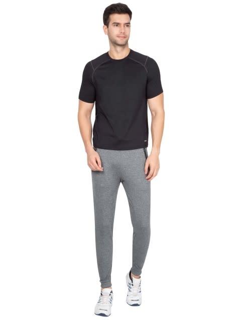 Grey Marl Jogger with Hybrid waist band