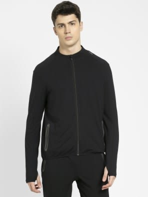 Black Highneck Jacket