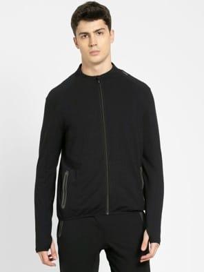 Black Highneck Jacket
