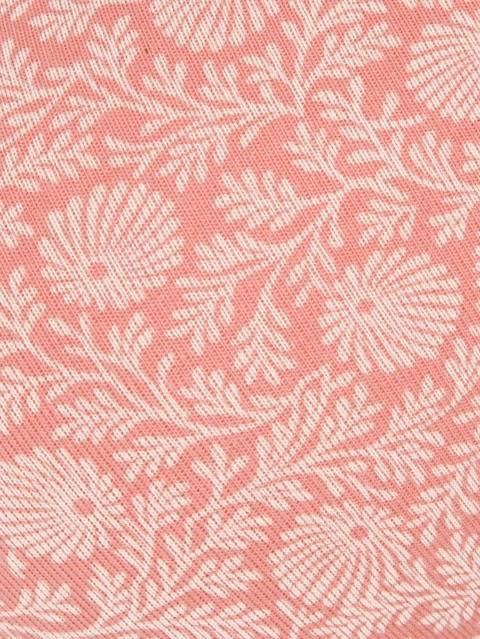 Peach Blossom Print62 T-Shirt Bra