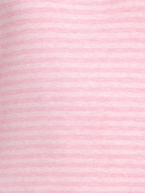 Pink Lady Melange Three Quarter Sleeve T-Shirt