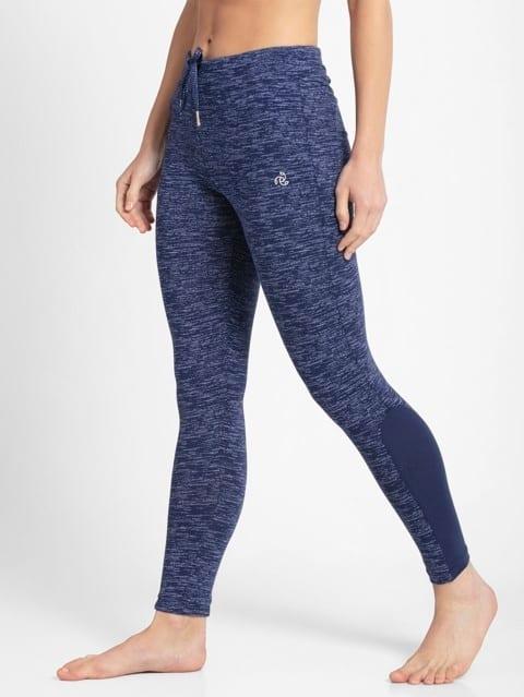 Imperial Blue Marl Yoga Pant