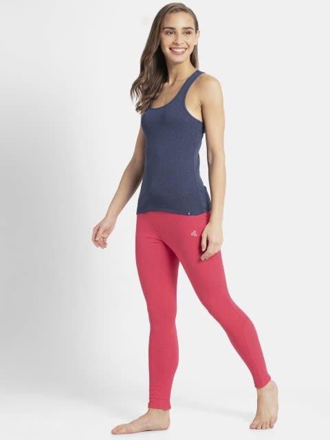 Ruby Pink Marl Yoga Pant