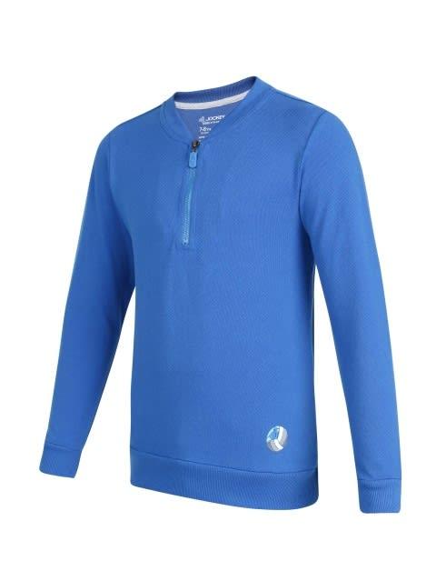Neon Blue Boys Sweatshirt