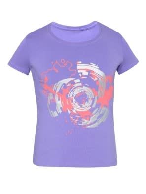 Paisley Purple Girls T-Shirt