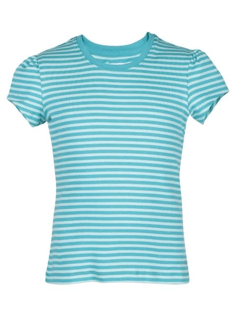 Paradise Teal & Aqua Splash Girls T-Shirt
